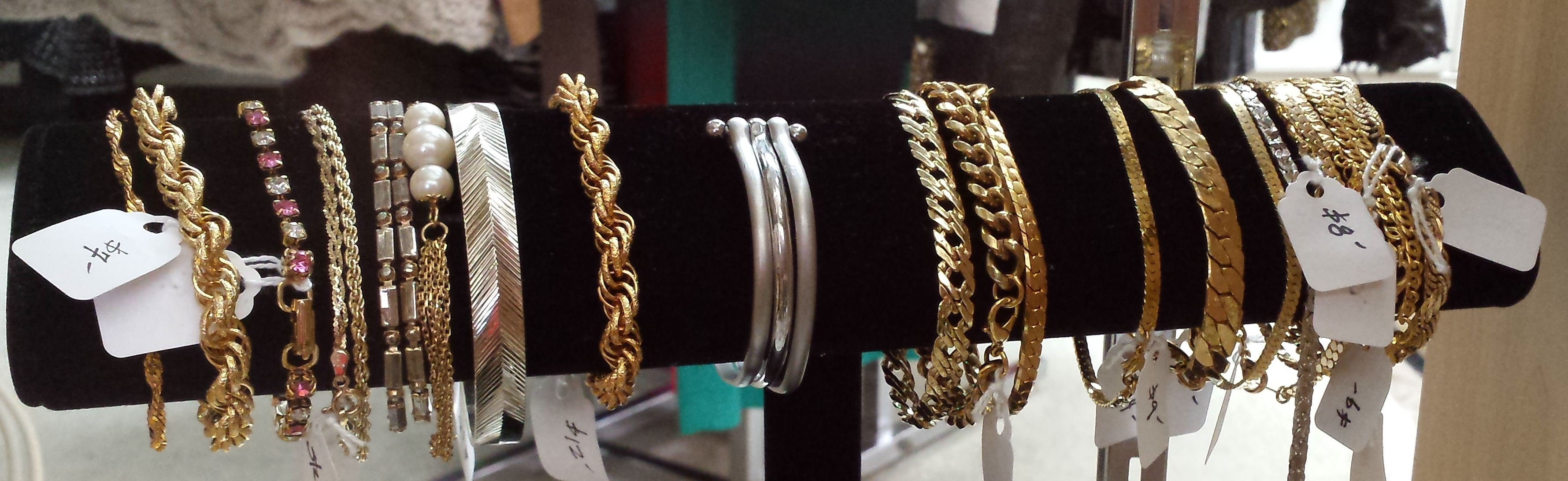Come Browse - We have a big selection of bracelets and necklaces