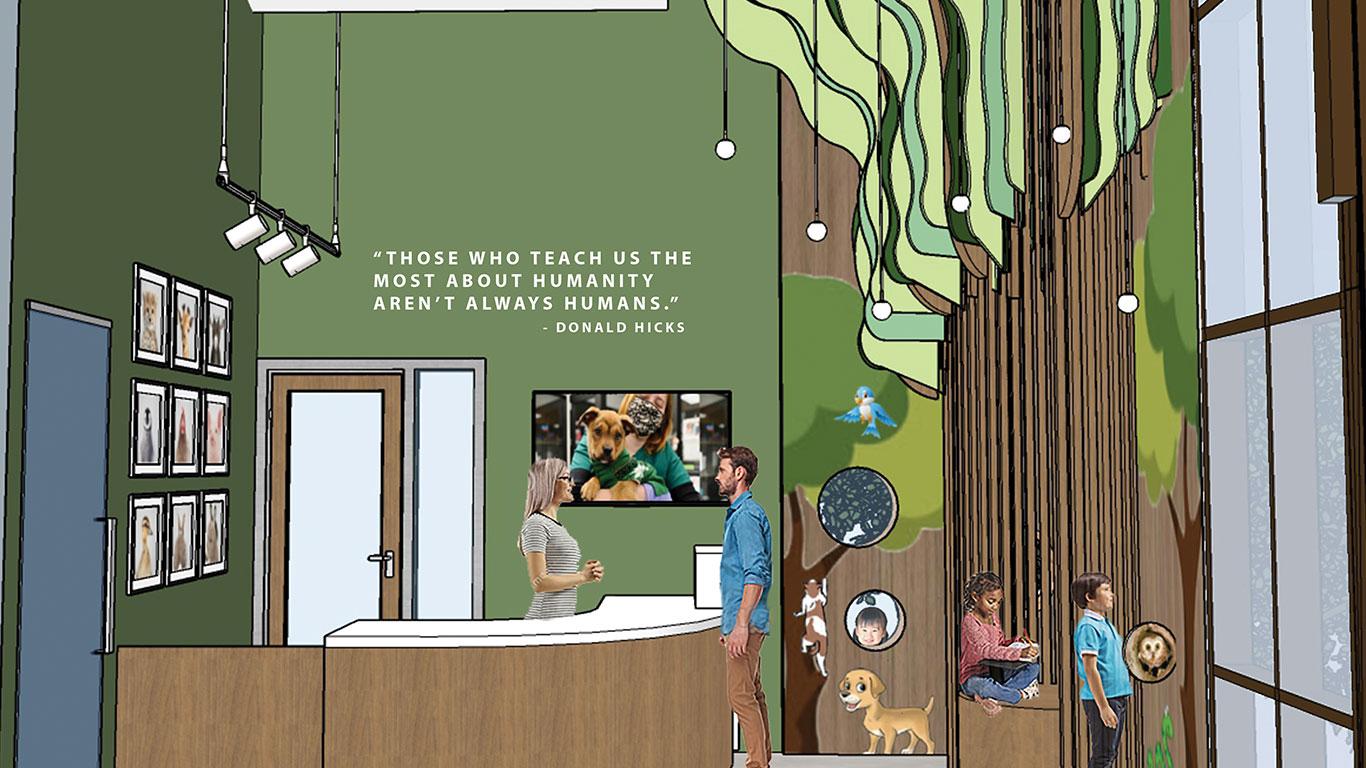 Education Village: Lobby