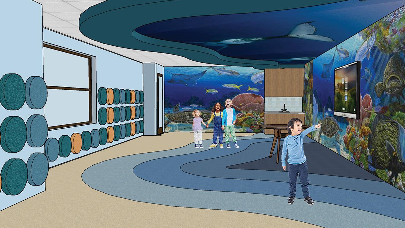 Education Village: Ocean View Classroom