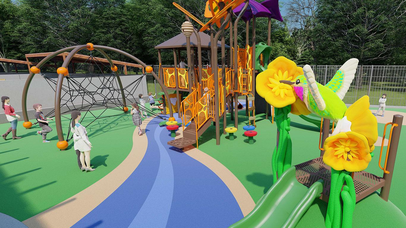 Education Village: Pollinator Playground