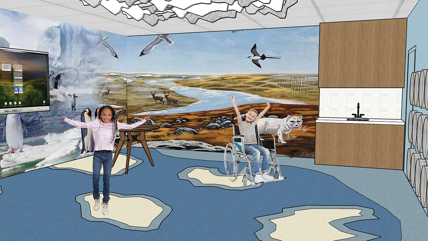 Education Village: Tundra Classroom